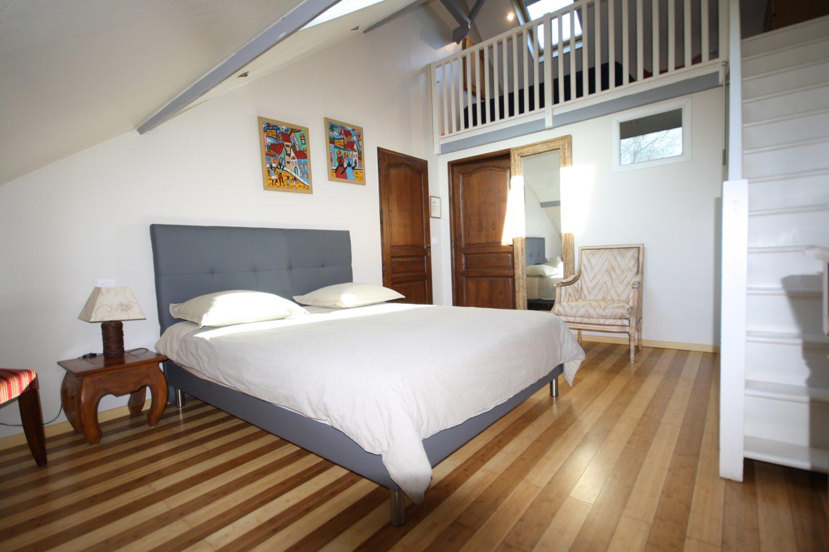 Pr sentation des chambres d 39 h tes trouville sur mer for Chambre d hotel normandie