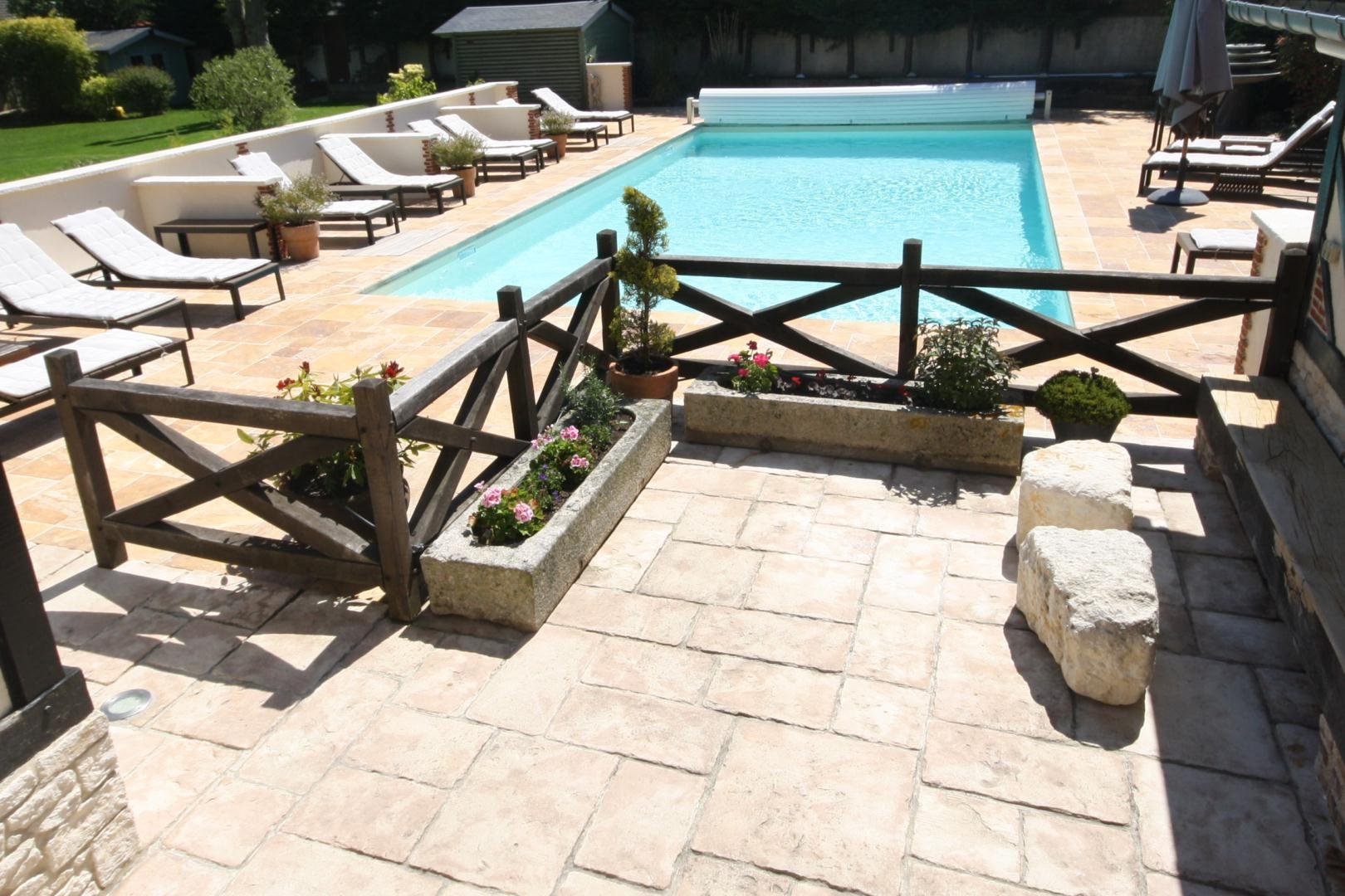 Best chambre dhote luxe normandie piscine gallery matkin for Chambre d hote piscine